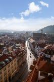 De historische Architectuur van Praag Royalty-vrije Stock Foto's