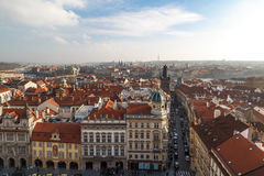 De historische Architectuur van Praag Royalty-vrije Stock Afbeeldingen