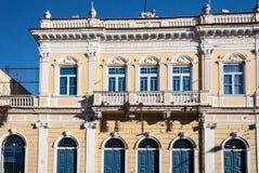 De historische Bouw in Amparo Royalty-vrije Stock Foto's