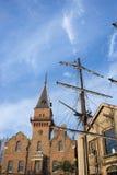 De historische bouw, Australië. stock foto