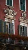 De historische bouw in Carrara Stock Foto's