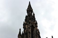 De historische bouw in Edinburgh 2018 stock fotografie