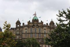 De historische bouw in Edinburgh 2018 royalty-vrije stock afbeelding