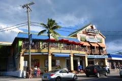 De historische bouw in George Town, Caymaneilanden Stock Foto