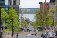 De historische Bouw, Halifax, Nova Scotia, Canada stock foto