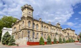 De historische bouw in Kerch, gymnasium 2 van de Krim nu Royalty-vrije Stock Afbeelding