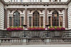 De Historische Bouw Londen van de Straat van de vloot royalty-vrije stock afbeeldingen