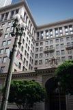 De historische bouw in Los Angeles, Californië Royalty-vrije Stock Afbeeldingen
