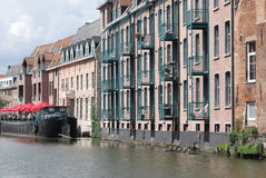 De historische bouw (Mechelen) stock afbeelding