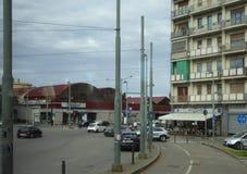 De historische Bouw op Oude Dalingenstraat in Buffelsny stock fotografie