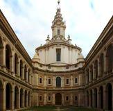 De historische bouw in Rome Royalty-vrije Stock Afbeelding