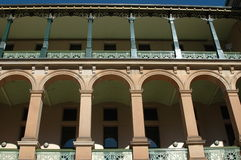 De historische Bouw Sydney Australië Stock Foto