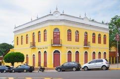 De historische bouw van Campo Grande lidstaten genoemd Morada-Dos Bais Stock Fotografie