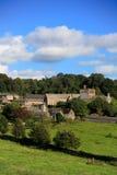 De historische bouw van de Bucklandabdij in Devon Royalty-vrije Stock Afbeeldingen