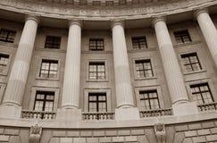 De historische Bouw van de Overheid Royalty-vrije Stock Afbeeldingen