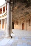 De historische bouw van Granada Stock Afbeeldingen