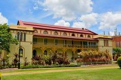 De historische bouw van het Maryboroughgerechtsgebouw in Maryborough, QLD Royalty-vrije Stock Afbeeldingen