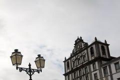 De historische bouw van Horta Stock Afbeelding