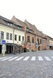 De 21.2014-historische bouw van Kaunasaugustus in Kaunas in Litouwen Stock Foto
