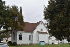 De historische Carpinteria-Vallei Baptist Church, 2 stock fotografie