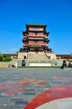 De historische Chinese bouw - Tengwang-Paviljoen Royalty-vrije Stock Afbeeldingen