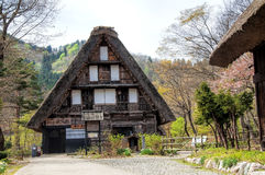 De Historische Dorpen van Shirakawago stock foto