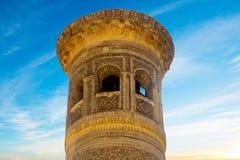 De historische gebouwen van de de moskeearchitect van stadsboukhara oude Royalty-vrije Stock Afbeeldingen