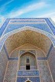 De historische gebouwen van de de moskeearchitect van stadsboukhara oude Stock Afbeeldingen