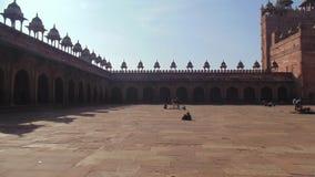 De historische gebouwen van Fatehpur Sikri in Agra, India stock foto