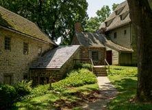De Historische Gebouwen van het Ephrataklooster in de Provincie van Lancaster, Pennsylvania Royalty-vrije Stock Foto's