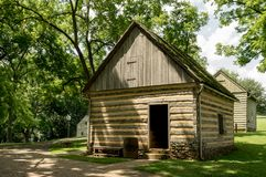 De Historische Gebouwen van het Ephrataklooster in de Provincie van Lancaster, Pennsylvania Stock Fotografie