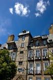 De historische gebouwen van Rennes Stock Fotografie