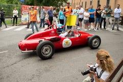 De Historische Grand Prix 2014 van Bergamo Stock Foto's