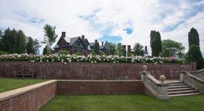 De Historische Herberg bij Shelburne-Landbouwbedrijven, Vermont royalty-vrije stock foto