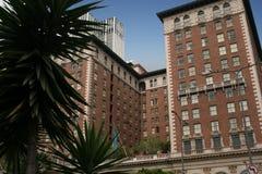 De historische hotelbouw in Los Angeles, Californië Royalty-vrije Stock Afbeelding