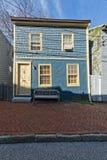 De historische huizen van Annapolismaryland Stock Afbeelding