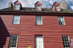 De historische huizen van Annapolismaryland Royalty-vrije Stock Fotografie