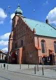 De historische kerk stock fotografie