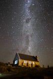 De historische kerk, Nieuw Zeeland royalty-vrije stock foto's
