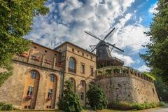 De historische molen in Potsdam Duitsland Stock Fotografie
