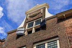 De historische Nederlandse bouw Royalty-vrije Stock Afbeeldingen