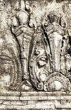 De historische oude stad van details. Thailand Stock Foto's