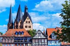 De historische oude stad van Gelnhausen â in Duitsland Stock Afbeelding