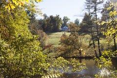 De Historische plaats van Carl Sandburg Home Historic National Royalty-vrije Stock Foto's