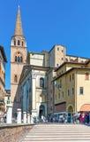 De historische plaatsen van Mantova Royalty-vrije Stock Afbeelding