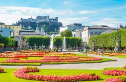 De historische plaatsen van Salzburg Royalty-vrije Stock Foto's