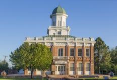 De historische Raad Hall Building in Salt Lake City Utah royalty-vrije stock afbeelding