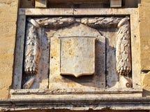 De historische Steenbouw in Centraal Florence, Italië royalty-vrije stock afbeeldingen