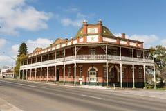 De historische Ster brengt Narrandera onder Stock Fotografie