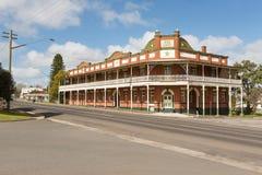 De historische Ster brengt Narrandera onder Royalty-vrije Stock Foto